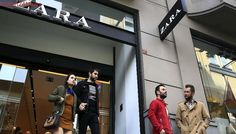 Zara Clothes in Istanbul Tagged to Highlight Labor Dispute