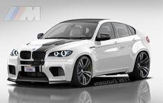 """""""2011 BMW X6 ///M (Cayenne Killer) """"Angel Eyes"""" """" by Virtual Tuners Mod Garage"""