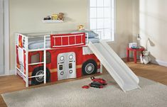 Toddler Loft Bed With Slide - The mothers and dads and infants of today are luckier than their counterparts years past becau Toddler Loft Beds, Bed With Slide, Mattress, Furniture, Bedrooms, Home Decor, Toddler Bed With Slide, Craft Work, Ideas