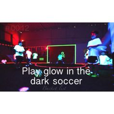 This would be a memorable party! Follow link to video of Revo Soccer