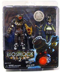 Big Sister & Little Sister Action Figure 2-Pack Bioshock 2 NECA