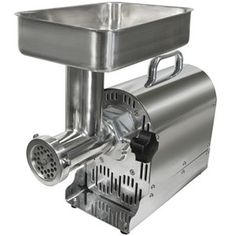 Weston 22 1HP Commercial Grade Electric Meat Grinder Sausage Stuffer