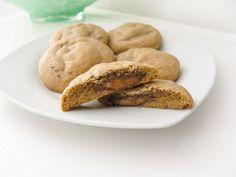 peanut butter rolo cookies