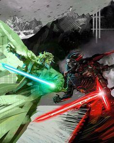 Kylo Ren doesn't stand a chance Star Wars Vii, Star Wars Fan Art, Star Trek, Star Wars Comics, Star Wars Toys, Jedi Sith, Star Wars Wallpaper, Last Jedi, Star Wars Episodes
