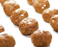 Melissa Joulwan's Chorizo Meatballs from Well Fed 2 Cookbook - great Super Bowl recipe!