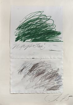 Cy Twombly, Writings 4.