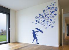 Lluvia en tu salon. Llena tu casa de color con este fantastico Puzzle!