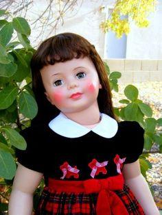 Patti+Playpal+Dolls+Rare | Ideal Patti Playpal doll--Excellent condition--Rare Brunette wavy ...