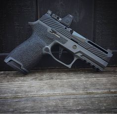 """coffeeandspentbrass: """"tacticalsquad: """" revolutionconcepts This one looked too good not to get a shot of before it headed out!! """" While I appreciate the mill work, why window the slide if you're not..."""