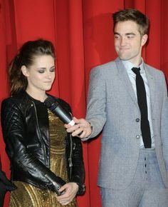 Kristen Stewart & Rob Pattinson at the Breaking Dawn 2 Premiere in Berlin - November 2012