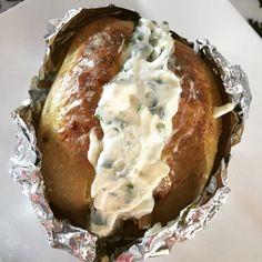 Recept:+Gepofte+aardappel+met+huisgemaakte+kruidenroomkaas