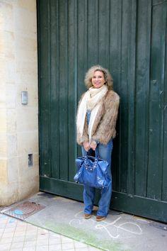 Sac Balenciaga Veste en lapin