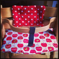 Tripp Trapp aufgepimt...😉 Red Apple, Diaper Bag, Handmade, Bags, Red, Handbags, Hand Made, Dime Bags, Mothers Bag