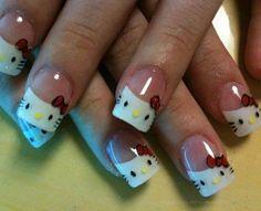 uñas de pies decoradas - Buscar con Google