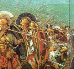 Battle of Thermopyles by Peter Connolly
