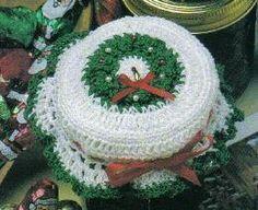 Jar Toppers - free crochet jar toppers pattern