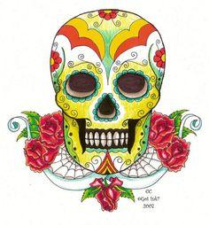 Sugar Skull Designs   Inspiration from Mexican Folk Art