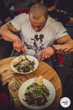 #WhiskeyInTheJar #RockAndRoll #RockAndSteak #HellYeah #WhiskeyPorn #sTex #BestBarTeam #sTex #food #delicious #dish #salad #mickey #tatoo Whiskey In The Jar, Cool Bars, Rock And Roll, Tatoos, Salads, Dishes, Hot, Rock Roll, Tablewares