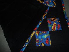 5 Lb. Superhero Weighted Blanket - Ready to Ship - For Autism, ADHD, Asbergers, Anxiety, PTSD, Sleep Disorders, and More
