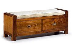 Pie de cama 2 cajones y cojin Colonial Star