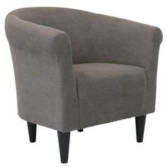 Shop for Round-back Upholstered Accent Chair. Get free shipping at Overstock.com - Your Online Furniture Outlet Store! Get 5% in rewards with Club O! - 18688455