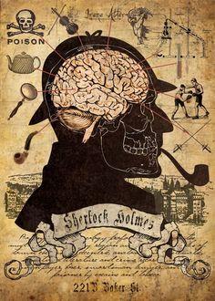 sherlock holmes brain