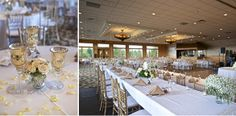 Engaging Wedding Blog Elegant Black And White Golf Course Wedding