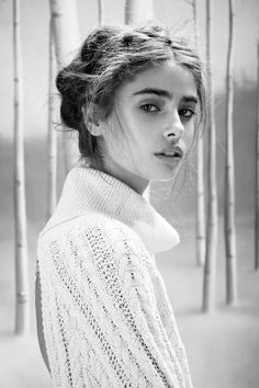 "Taylor Hill in ""Winter Wonderland"" - For Love & Lemons Knitz Holiday 2014 Lookbook"