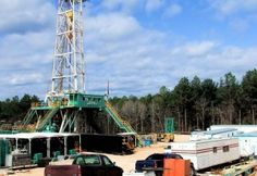 Oil Gas Rig Remote Site with Satellite Communications