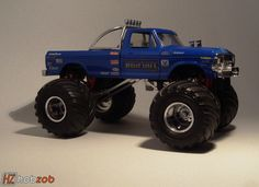 Original 1979 Ford Bigfoot. This kit needs to be reissued.
