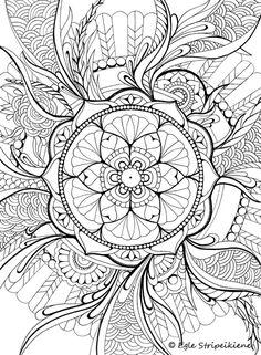 Coloring book COLORS OF CALM - egle art & design