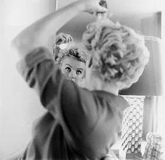Marilyn in the mirror