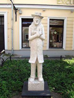 Monument to Heinrich Zille by Thorsten Stegmann, Poststraße, Nikolaiviertel, Berlin