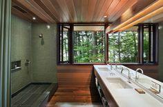 tom murdough design   (mirror extends window view)