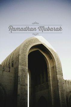 Ramadhan Mubarak.