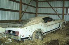 1969 Ford Mustang Shinoda Boss 302 Graphic Prototype Barn Find