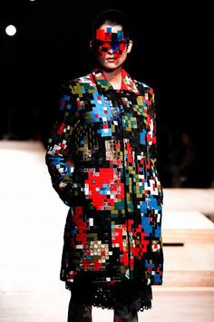 GLITCHING FASHION | ANREALAGE — Patternity