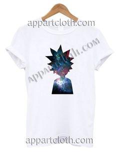 Rick and morty galaxy nebula T Shirt – Adult Unisex Size S-2XL //Price: $12 //     #FunnyAmericaShirts