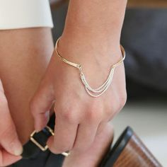 Chained Bangle