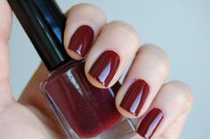 Swatches of Gina Tricot Beauty – 07 Zinfandel, 15 Petrol & 44 Have a Bite Deep Red Nails, Red Nail Polish, Romantic Mood, Gina Tricot, American Apparel, Swatch, Nail Art, Beauty, Clothes