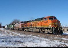 RailPictures.Net Photo: BNSF 4578 Burlington Northern Santa Fe GE C44-9W (Dash 9-44CW) at Briar Bluff, Illinois by Tom Farence