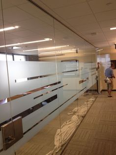 conference room glass frosting - Google Search