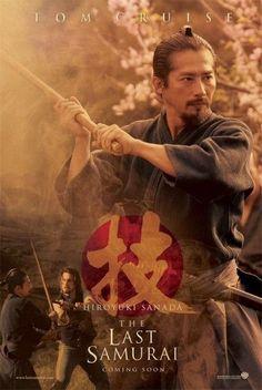 THE LAST SAMURAI-Hiroyuki Sanada... IMO, my favorite character in the film, all business and intense...
