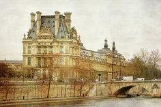 Louvre Museum by Joan Carroll