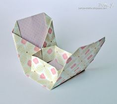 DIY origami box with simple video tutorial