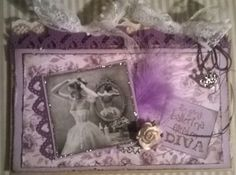 Once a ballerina always a diva. I Card, Ballerina, Diva, Frame, Projects, Home Decor, Picture Frame, Log Projects, Blue Prints