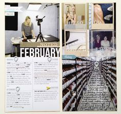 """writing on a """"hall"""" photo / Ali Edwards / see whole post http://aliedwards.com/2013/03/project-life-2013-week-nine-includes-february-day-in-the-life.html"""