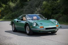 1972 Ferrari 246 Dino GTS- Green - Motor Classic & Competition Corp.