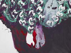Portia Zvavahera: Ndakavata pasi ndikamutswa nekuti anonditsigira | David Zwirner Composition Drawing, Grafton Street, Female Painters, London Location, Vivid Imagery, Exhibition Space, Human Condition, Printmaking, Vibrant Colors