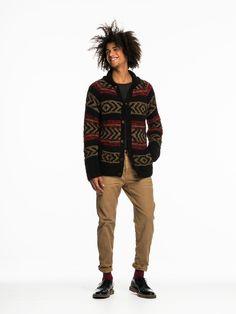 Mohair & Lurex Mix Cardigan sweater
